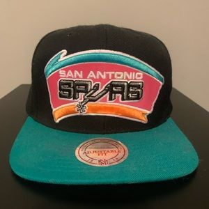 Mitchell and Ness San Antonio Spurs SnapBack